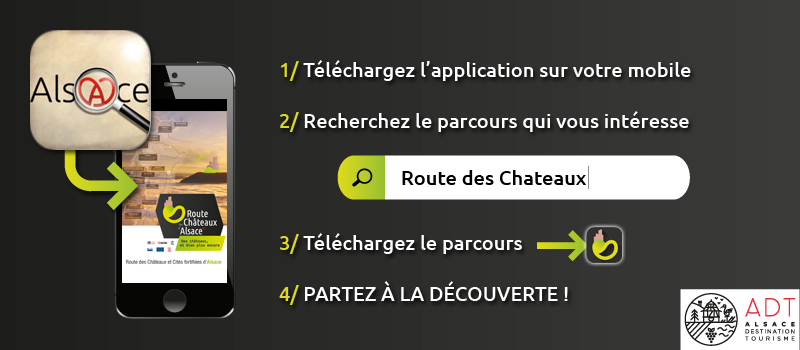 telecharger l'application la piste des trésors d'alsace